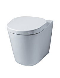 Ideal Standard Tonic Wall Mounted WC Pan With Horizontal Outlet