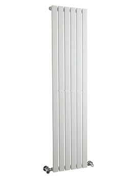 Hudson Reed Sloane 354x1500mm Single Panel Vertical Radiator - White