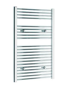 Tivolis Straight Heated Towel Rail 400 x 1000mm - Chrome
