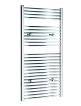 Tivolis Creda Straight Heated Towel Rail 400 x 1200mm - Chrome