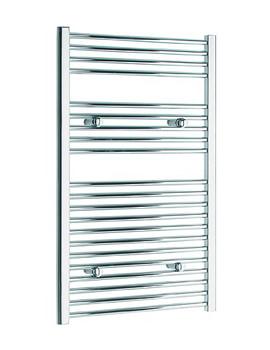 Tivolis Straight Heated Towel Rail 600 x 1000mm - Chrome