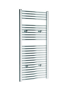 Tivolis Straight Heated Towel Rail 300 x 1200mm - Chrome
