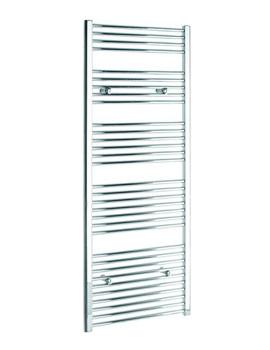 Tivolis Straight Heated Towel Rail 450 x 1600mm - Chrome