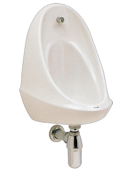 Twyford Camden One Urinal With Concealed Flushpipes And Cistern