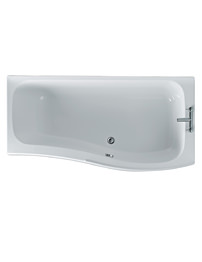 Ideal Standard Create 170cm x 80cm Idealcast Shower Bath Right Hand