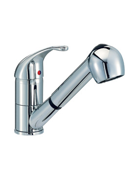 Mayfair Titan Monobloc Kitchen Mixer Tap With Pull Out Handset