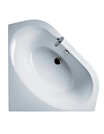 Ideal Standard Tonic 140cm x 140cm Idealform Corner Bath