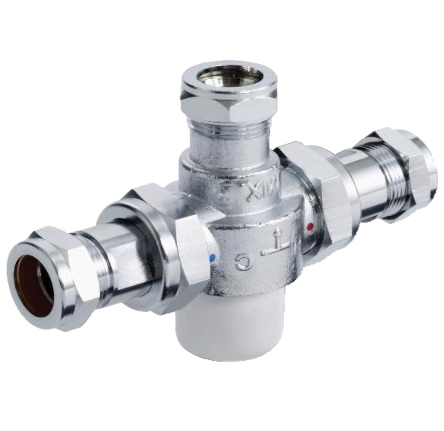Twyford Sola 22mm Thermostatic Mixing Valve