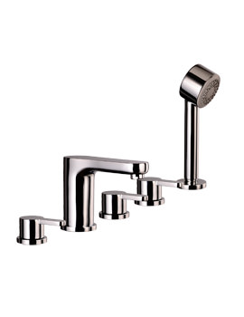 Mayfair Eion 5 Hole Bath Set Chrome