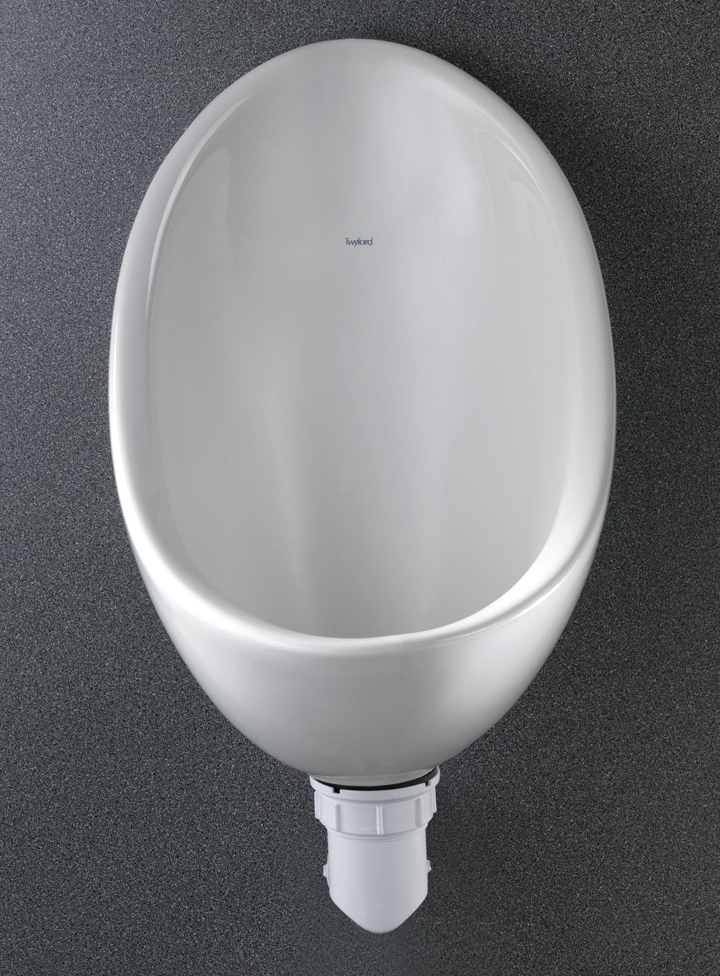 Twyford Clifton Waterless Urinal Bowl 305 X 375 X 445mm