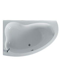 Ideal Standard Create Idealform 160cm x 105cm LH Offset Corner Bath