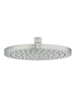 Deva Krome 8 Inch Fixed Shower Head With Swivel Joint Chrome