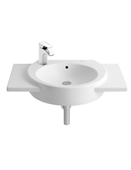 Roca Happening 800 x 475mm Wall Hung Basin With 1 LH Taphole