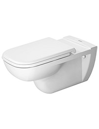 Duravit D-Code White Wall Mounted Toilet 360 x 700mm
