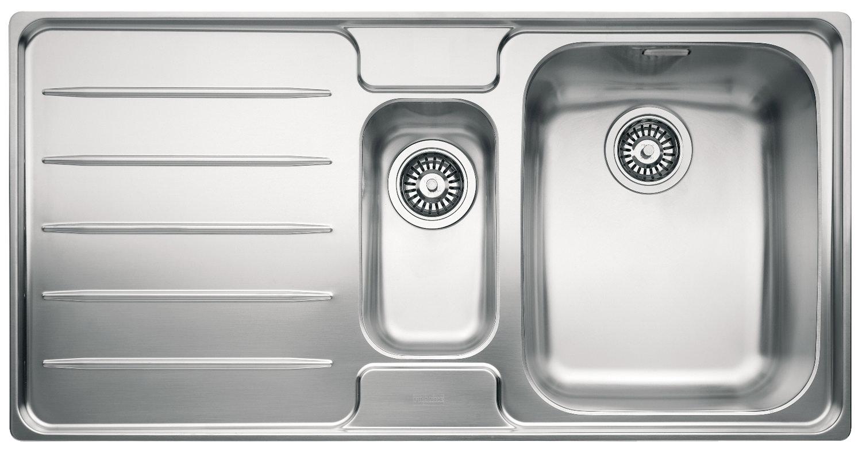 Franke Laser Sink : Franke Laser LSX 651 Stainless Steel Left Hand 1.5 Bowl Inset Sink