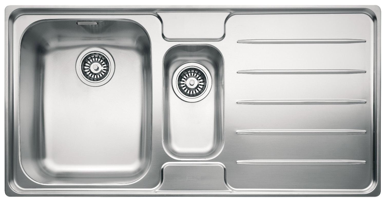 Franke Laser Sink : Franke Laser LSX 651 Stainless Steel RHD 1.5 Bowl Inset Sink