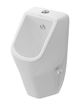 Duravit D-Code White Urinal With Visible Inlet 305 x 295mm