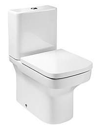 Roca Dama-N Moulded Back-To-Wall Close Coupled Eco WC Pan With Cistern