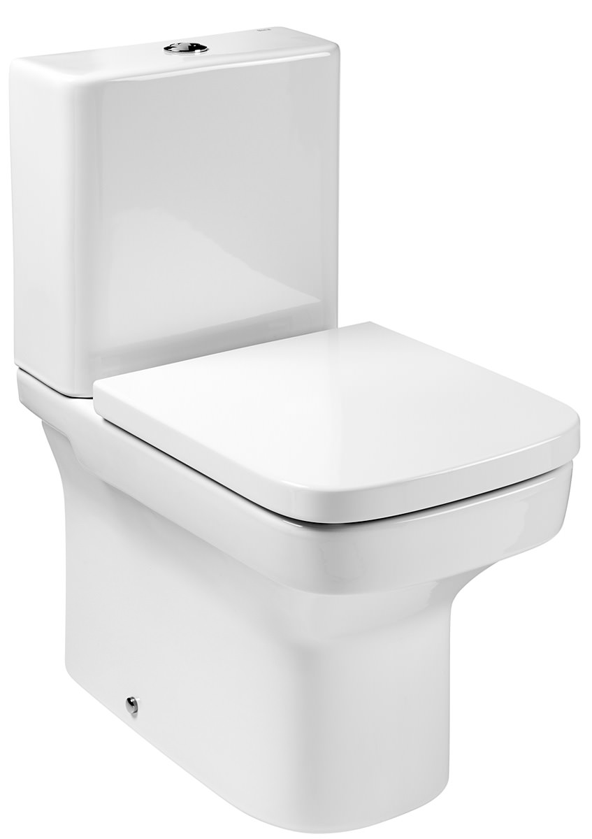 Roca dama n back to wall close coupled eco wc pan with cistern for Roca dama toilet