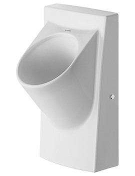 Duravit Waterless Urinal Architec Dry With Air Trap And Cover 380 x 350mm