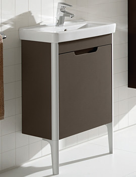 Roca Dama-N Right Hand Door Base Unit For 550mm Compact Basin