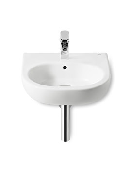 Roca Meridian-N 450mm Wall Hung Cloakroom Basin With 1 Taphole