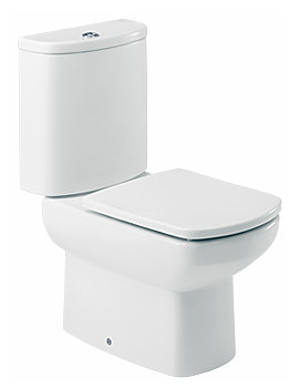 Roca Senso Open Back Close Coupled WC Pan With Cistern 660mm