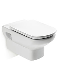 Roca Senso Compact Wall Hung WC Pan 555mm