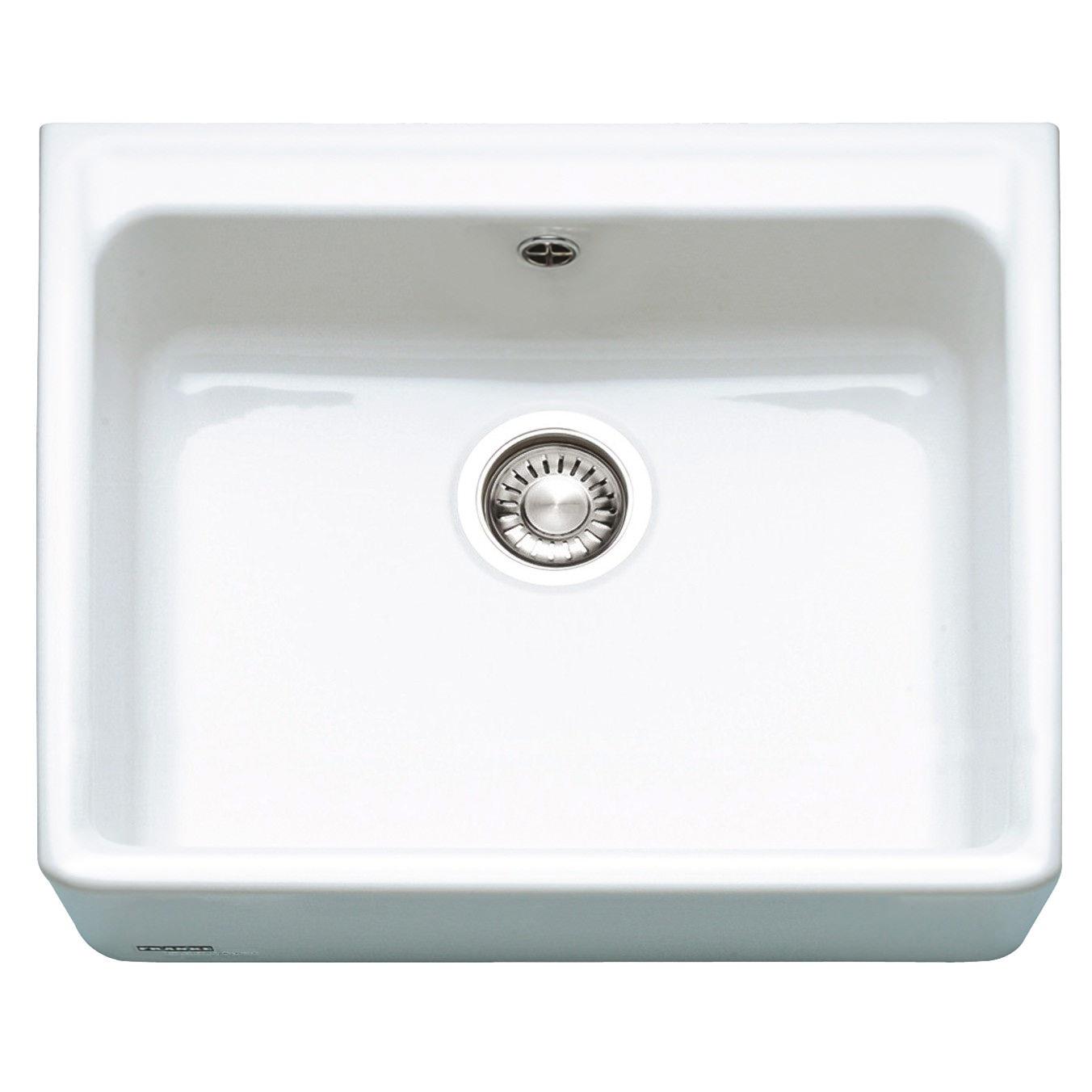 Franke Ceramic Sink : ... ceramic sinks brand new franke belfast vbk 710 ceramic 1 0 bowl white