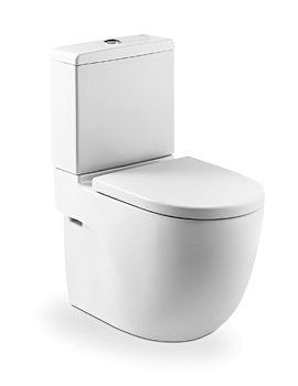Roca Meridian-N Compact Eco Close Coupled WC Pan And Cistern