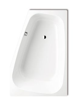 Kaldewei Avantgarde Plaza Duo Left Handed Steel Bath 1800 x 1200mm