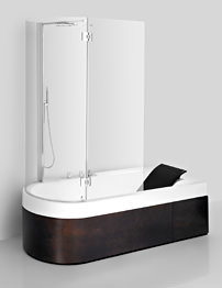 Roca Happening 1900mm Acrylic Bath With Relax Hydromassage - Right Hand