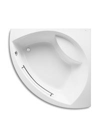 Roca Novara 1500 x 1500mm Acrylic Corner Bath With Grip
