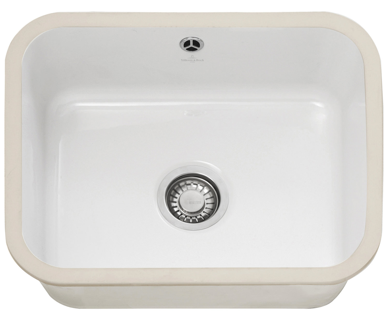 ... ceramic sinks brand new franke vbk 110 50 ceramic 1 0 bowl white
