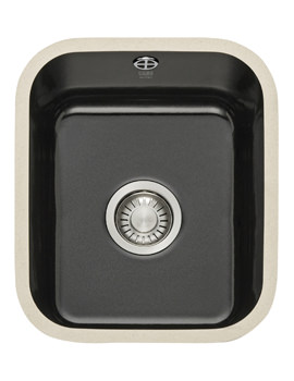 Franke VBK 110 33 Ceramic 1.0 Bowl Black Undermount Sink