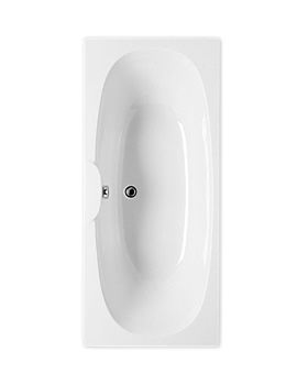 Roca Sitges 1700 x 750mm Double Ended Acrylic Bath With No Tapholes