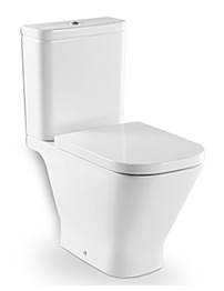 Roca The Gap Open Back Close Coupled Eco WC Pan With Cistern