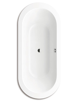 Kaldewei Ambiente Classic Duo 115 Oval Wide Steel Bath 1800 x 800mm