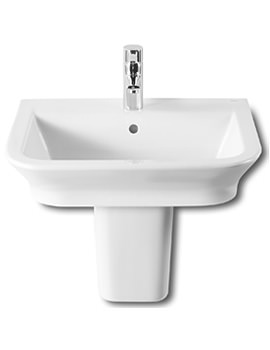 Roca The Gap 550 x 470mm Wall Hung Basin With No Tap Hole