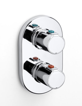 Roca Victoria T Built-In Thermostatic Concealed Shower Valve