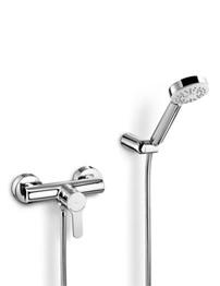 Roca victoria t thermostatic shower column with kit for Roca prada t