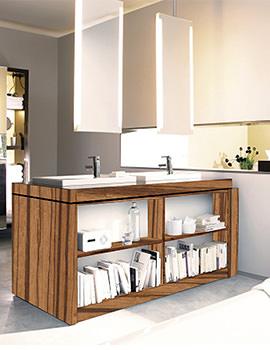 Duravit 2nd Floor 1580mm Floor Standing Vanity Unit With lighting