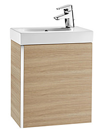 Roca Mini Basin And Base Unit - Textured Oak