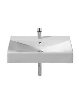 Roca Diverta 750 x 440mm Wall Hung Or Vanity Basin With 1 Taphole