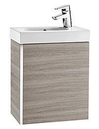 Roca Mini Basin And Base Unit - Textured Grey