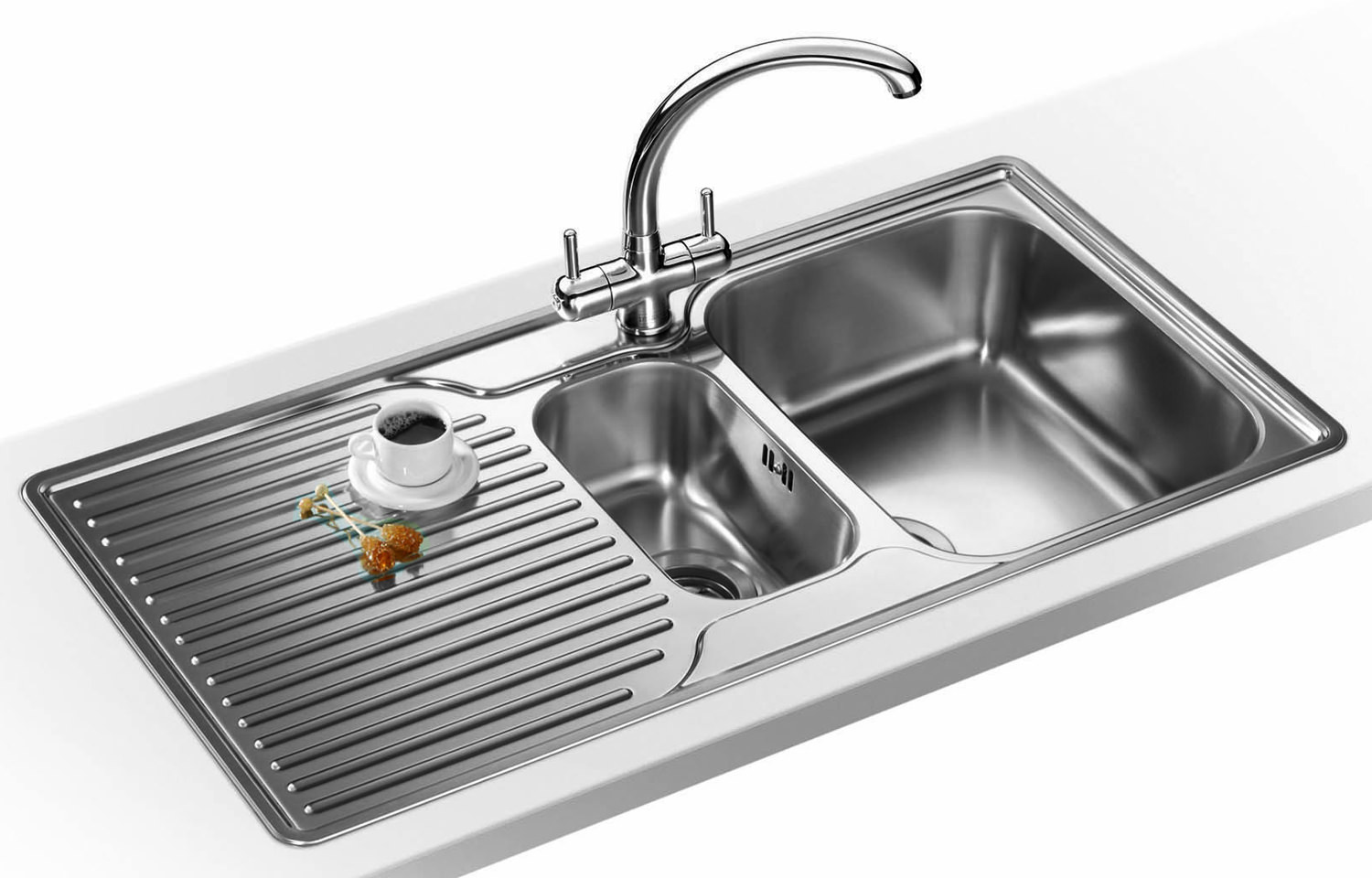 Franke Ariane ARX 651P Propack - Stainless Steel LHD Sink And Tap