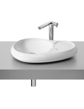 Roca Urbi 7 Over Countertop 600 x 400mm Basin With No Taphole