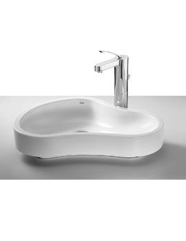 Roca Urbi 8 Over Countertop 550 x 400mm Basin With No Taphole