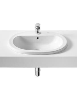 Roca Coral-N 560 x 480mm In Countertop Basin With 1 Taphole