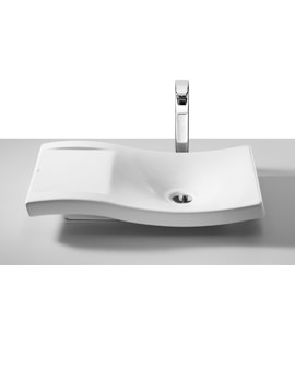 Roca Urbi 2 Over Countertop 660 x 380mm Basin With No Taphole